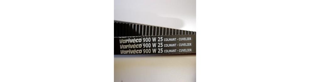 Courroies variateur